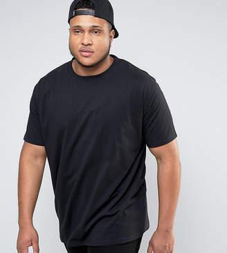 Duke King Size Crew Neck T-Shirt In Black