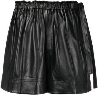 Helmut Lang paperbag waist shorts
