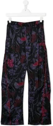 John Galliano TEEN butterfly print trousers