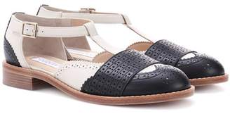 Gabriela Hearst Chilton leather T-strap brogues