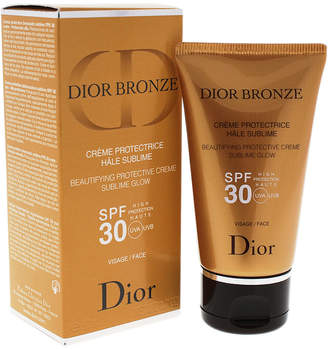 Christian Dior Bronze Beautifying Protective Face Crme Sublime Glow Spf 30