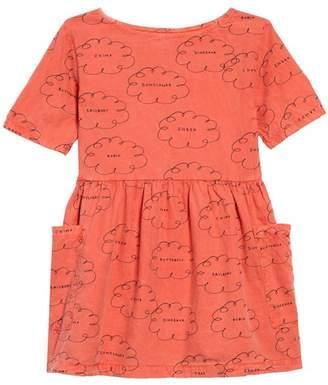 Bobo Choses Clouds Organic Cotton Dress (Toddler Girls, Little Girls & Big Girls)