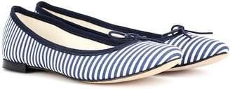 Repetto Cendrillon striped ballerinas