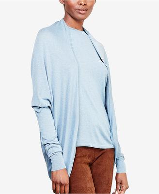 Lauren Ralph Lauren Open-Front Cardigan $135 thestylecure.com