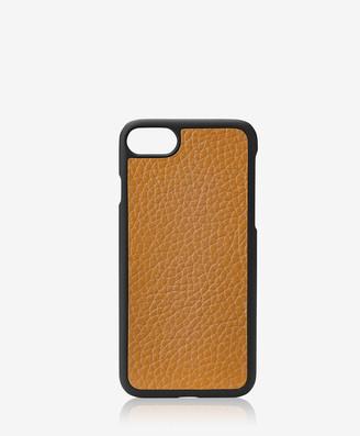 GiGi New York iPhone 7 Hard-Shell Case, Camel Napa Luxe
