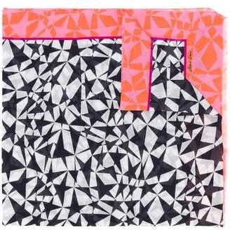 Marc Cain star print scarf