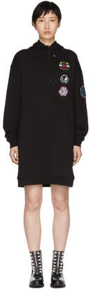 McQ Black Hoodie Dress