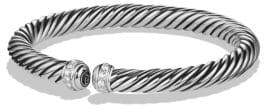 David Yurman Cable Spira Bracelet with Diamonds