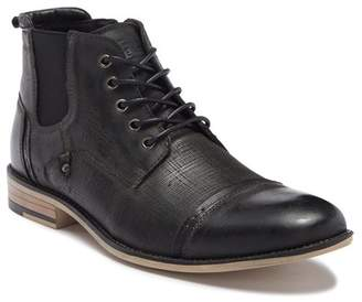 Steve Madden Kleen Cap Toe Leather Boot
