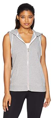 Nanette Lepore Play Women's Zip Front Sleeveless Hoodie
