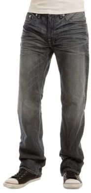 "GUESS Relaxed Straight, Denver Wash (30-34"" inseams)"