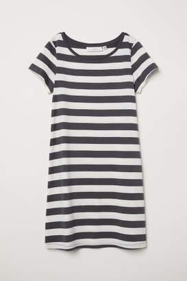 H&M Modal-blend Jersey Dress - Gray