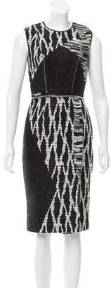 Yigal Azrouel Textured Sheath Dress