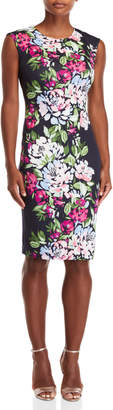Vince Camuto Floral Bodycon Dress