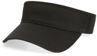Women's American Needle Visor - Black $24 thestylecure.com
