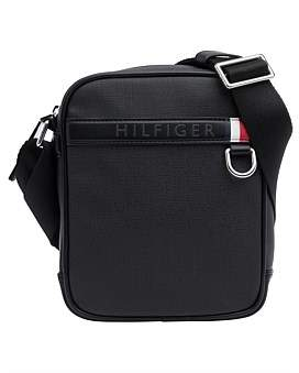 Tommy Hilfiger Coated Canvas Mini Reporter