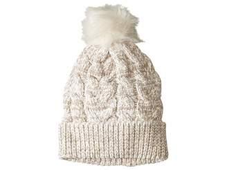 Steve Madden Chenille Pom Hat