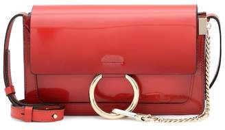 Chloé Faye Small patent leather shoulder bag