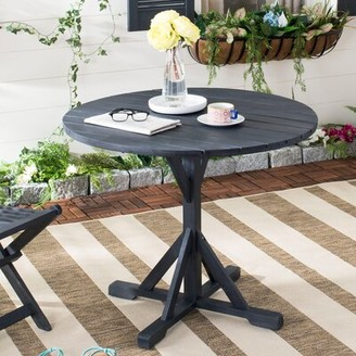 Darby Home Co Babineaux Solid Wood Dining Table Darby Home Co