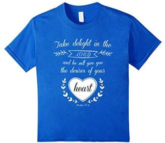 Take Delight In The Lord Tshirt- Christian Novelties
