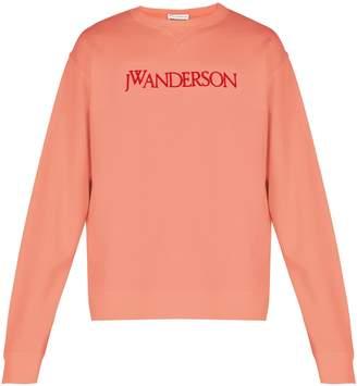 J.W.Anderson Logo-embroidered cotton sweatshirt