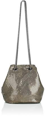 Barneys New York Women's Metal Mesh Bucket Bag