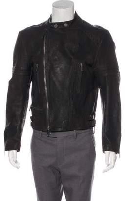 John Galliano Leather Moto Jacket w/ Tags