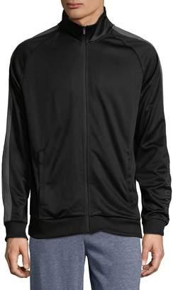 Calvin Klein Men's Stand Collar Zip Track Jacket