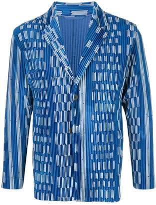 Issey Miyake Homme Plissé Ikat jacket