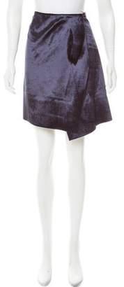 Reed Krakoff Velvet Knee-Length Skirt