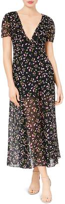 Betsey Johnson Cherry-Print Maxi Dress