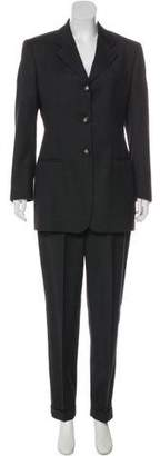 Dolce & Gabbana Structured Wool Pantsuit