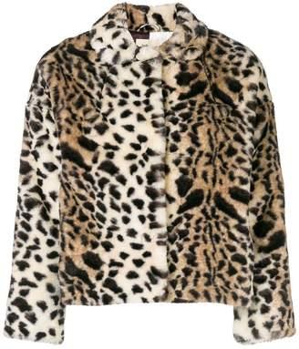 Bellerose leopard print jacket