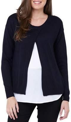 Cross Front Nursing Sweater