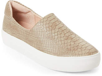 J/Slides Taupe Ariana Slip-On Sneakers