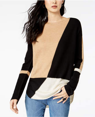 INC International Concepts I.n.c. Colorblocked Sweater