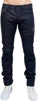 Cult of Individuality Greaser Straight Leg Moto Jeans