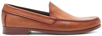 Donald J Pliner NATE, Washed Calf Leather Loafer