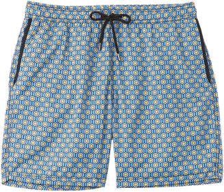 6429b4006a Mr.Swim Mr. Swim Geometric Swim Trunk