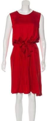 Ann Demeulemeester Sleeveless Belted Dress