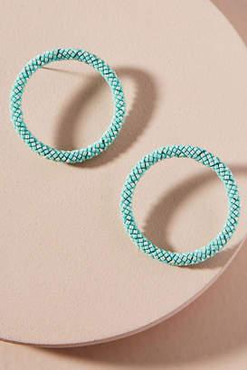 Mishky Petite Hula Hoop Post Earrings