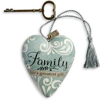 DEMDACO Family Life's Great Gift Art Heart Ornament