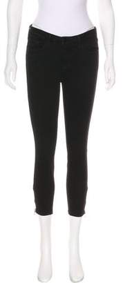 L'Agence Mid-Rise Skinny Jeans