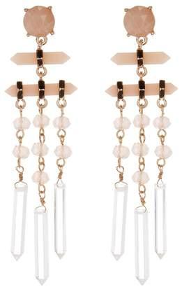 Free Press Crystal Cut Mobile Earrings