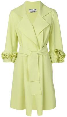 Chiara Boni floral fitted coat