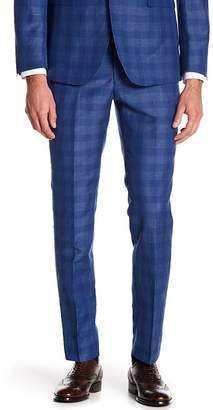 "Original Penguin Sharkskin Plaid Suit Separates Pants - 30-34"" Inseam"