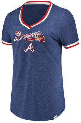 Majestic Women's Atlanta Braves Driven by Results T-Shirt