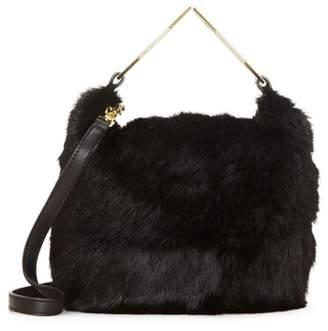 Louise et Cie Tysse Genuine Rabbit Fur Bracelet Bag