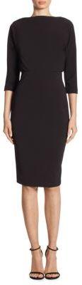 Badgley Mischka Dolman Dress $295 thestylecure.com