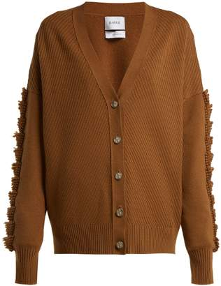 BARRIE Loop-stitched cashmere cardigan